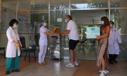 Bệnh nhân nhiễm Covid-19 thứ 57 khỏi bệnh, xuất viện