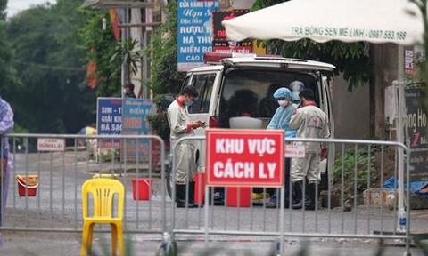 Thêm 4 người nhiễm COVID-19 mới, 2 ca ở Mê Linh