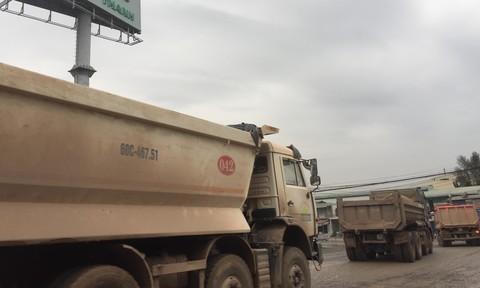 Đồng Nai: Ám ảnh với xe ben ở khu vực đường Nam Cao - QL51