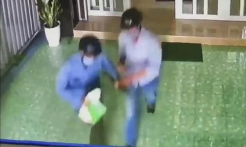Cảnh báo trộm đột nhập từ tầng cao