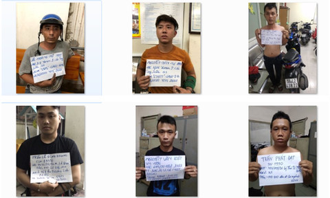 Tuần tra khu trung tâm TPHCM, bắt nhiều tên tội phạm