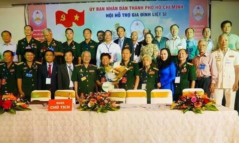 Ra mắt Hội Hỗ trợ gia đình liệt sỹ TPHCM