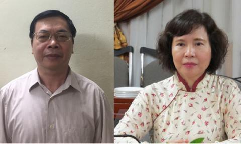 Thông tin chính thức vụ khởi tố ông Vũ Huy Hoàng, bà Hồ Thị Kim Thoa
