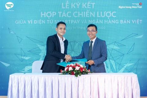 SmartPay hợp tác cùng Ngân hàng Bản Việt ra mắt tiện ích gửi tiết kiệm trực tuyến với lãi suất hấp dẫn
