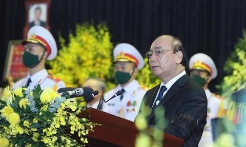 Tổ chức trọng thể lễ truy điệu, lễ an táng nguyên Tổng Bí thư Lê Khả Phiêu