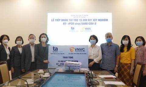 Bệnh viện Tâm Anh và hệ thống tiêm chủng VNVC hỗ trợ Sở Y tế TP.Hà Nội chống dịch