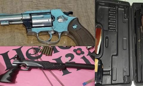 Phá đường dây buôn bán ma túy, vũ khí quân dụng, thu 7 khẩu súng