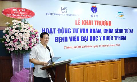 Bệnh viện ĐH Y Dược TP.HCM chính thức khai trương hoạt động tư vấn khám chữa bệnh từ xa