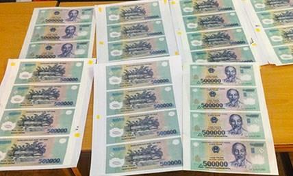Khởi tố đối tượng tàng trữ, lưu hành 77 triệu đồng tiền giả
