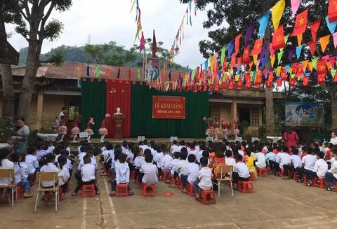 Chubb Life Việt Nam khởi công xây dựng trường tiểu học Phú Thanh