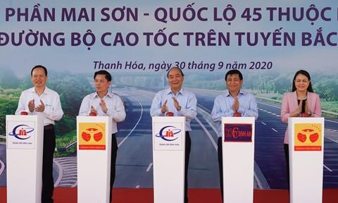Khởi công 3 dự án thành phần của cao tốc Bắc-Nam