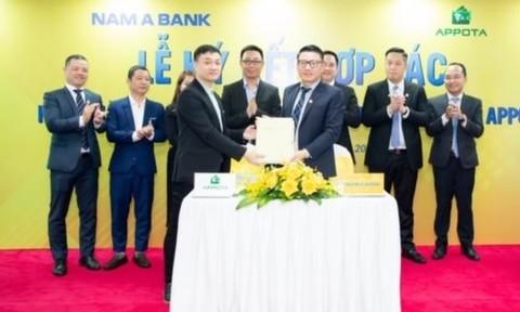 Nam A Bank - ngân hàng Việt đầu tiên liên kết cùng ví điện tử AppotaPay