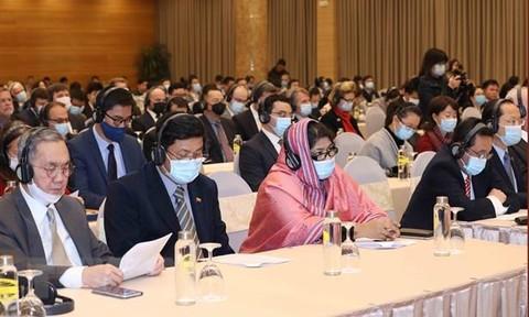 Mời Đoàn Ngoại giao, đại diện các tổ chức quốc tế dự khai mạc và bế mạc Đại hội XIII của Đảng