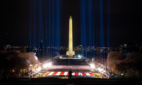 Chùm ảnh nước Mỹ ngày Biden nhậm chức