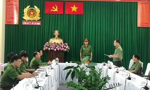 Kiện toàn chức danh Phó thủ trưởng Cơ quan CSĐT Công an TPHCM