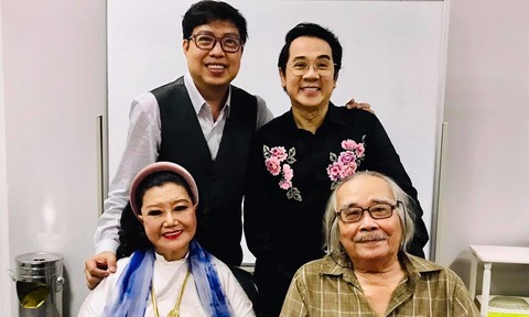 NSND Kim Cương, Thành Lộc mừng kỷ niệm 100 năm sân khấu