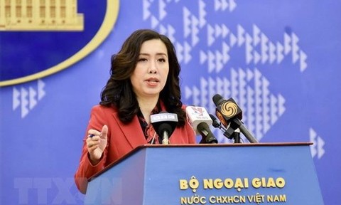 Việt Nam lên tiếng việc Pháp điều tàu ngầm tuần tra ở Biển Đông