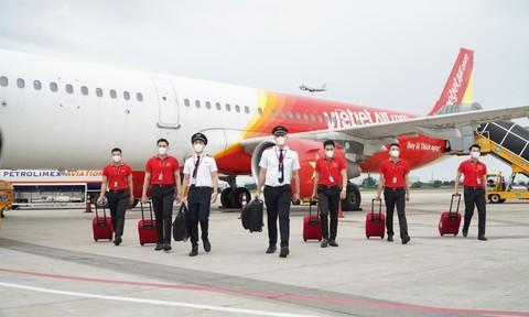 Vietjet nằm trong số các hãng hàng không phòng chống dịch tốt nhất thế giới