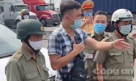 Bắt giữ Lê Chí Thành về hành vi chống người thi hành công vụ