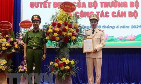 Bắc Ninh và Nghệ An có Giám đốc Công an tỉnh mới