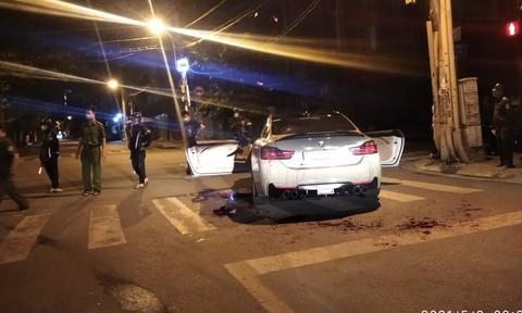 Vụ 2 người bị chém vì tiếng pô xe BMW nổ to: Truy xét 4 đối tượng liên quan