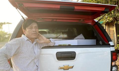 Giám đốc công ty vận chuyển thuốc bảo vệ thực vật nghi không rõ nguồn gốc