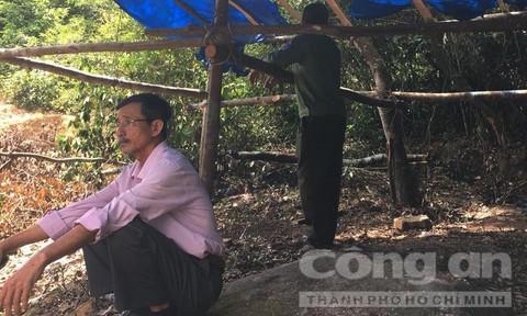 Cán bộ bảo vệ rừng bị tấn công, lán trại bị đốt phá
