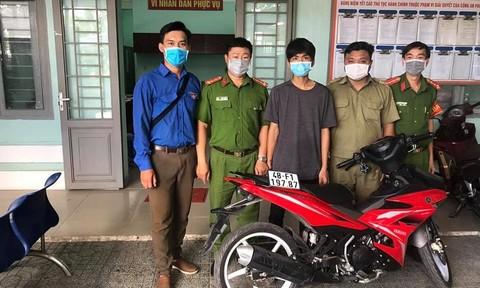 Trộm xe máy ở Bình Phước, tháo biển số chạy về TPHCM, bị tóm gọn