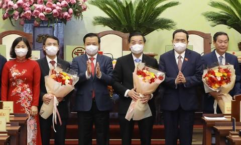 Ông Chu Ngọc Anh tiếp tục được bầu làm Chủ tịch UBND TP.Hà Nội