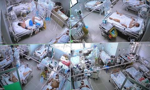 Theo chân ca trực đêm chăm sóc bệnh nhân COVID-19 tại BV Chợ Rẫy