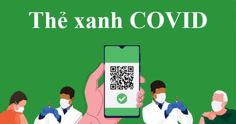 điều kiện thẻ xanh Covid