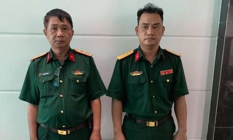 Khởi tố bị can, tạm giam 'trung tướng quân đội' dỏm và đồng phạm - Đọc Tin  Online