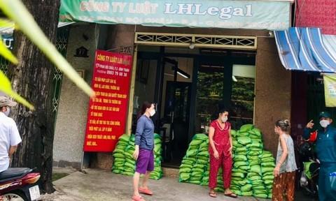 Công ty Luật LHLegal đồng hành cùng người dân vượt qua dịch bệnh