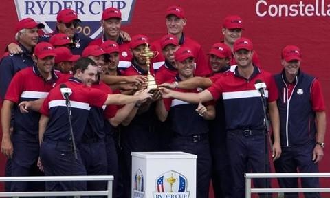 Tuyển Mỹ đoạt giải golf Ryder cup