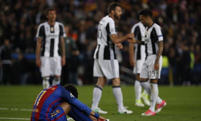Hòa Juventus, Barcelona dừng cuộc chơi