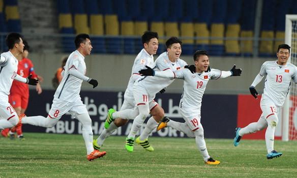 U23 Việt Nam viết nên lịch sử cho bóng đá nước nhà