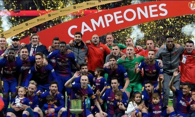 Hủy diệt Sevilla, Barcelona vô địch Cup Nhà vua lần thứ 30