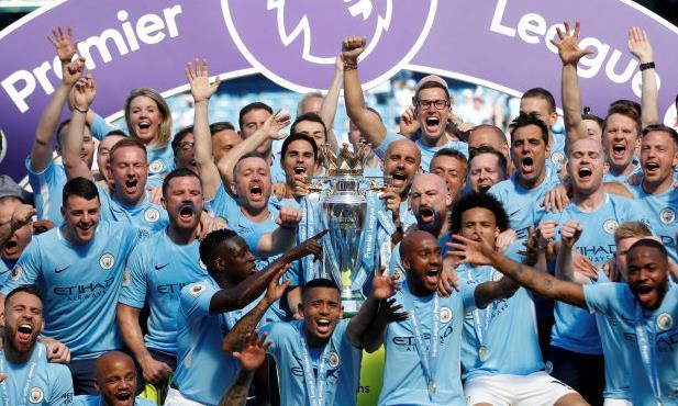 Kết thúc Ngoại hạng Anh 2017- 2018: Man City lập hàng loạt kỷ lục