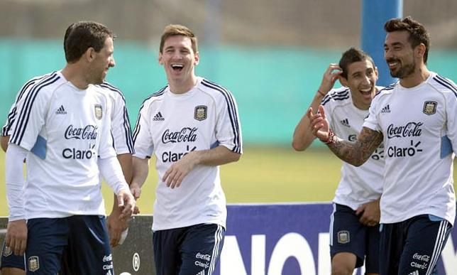 Chờ xem công thức tấn công của Argentina