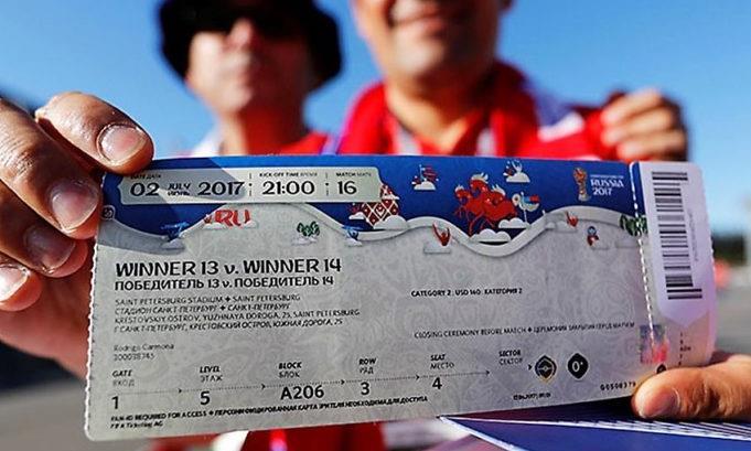 3.500 CĐV Trung Quốc mua nhầm vé xem World Cup giả