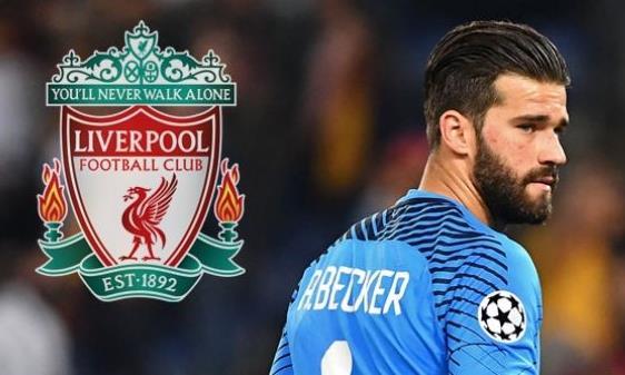 Liverpool chiêu mộ Alisson với số tiền kỷ lục