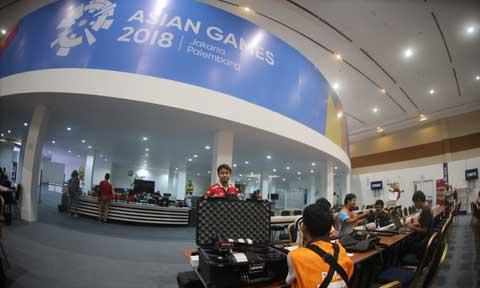 Trung tâm báo chí Asiad có sức chứa khoảng 7.000 phóng viên