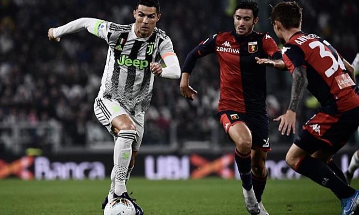 Ronaldo tỏa sáng giúp Juventus thắng sát nút