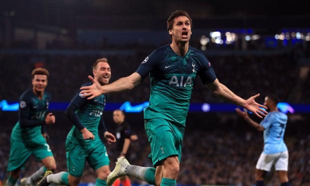 Tottenham vượt mặt Man City trong trận đấu rượt đuổi tỷ số nghẹt thở