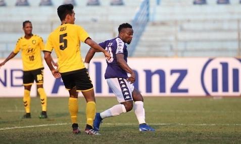 Clip trận Hà Nội thắng Tampines Rovers, vào vòng knock-out AFC Cup