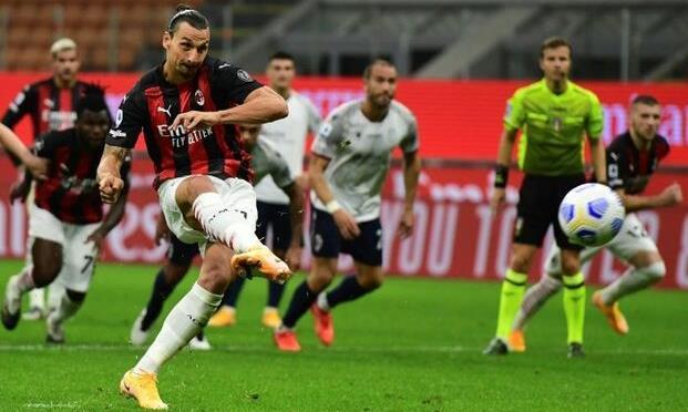 Ibrahimovic lập cú đúp, giúp Milan thắng trận ra quân