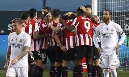 Clip trận Real bị Bilbao đá khỏi siêu cup