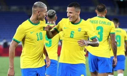 Clip diễn biến trận Brazil hạ Đức 4-2 ở trận ra quân Olympic