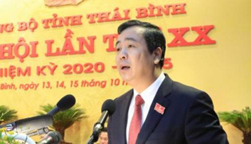 Ông Ngô Đông Hải tái đắc cử Bí thư Thái Bình với số phiếu tuyệt đối - Ảnh 1.