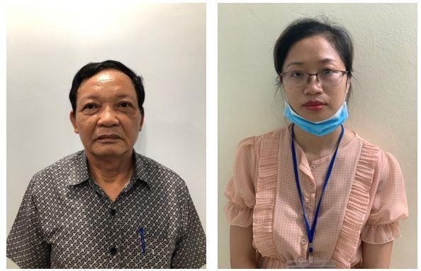 Các đối tượng: Lê Văn Cương, Hồ Thị Sáu.